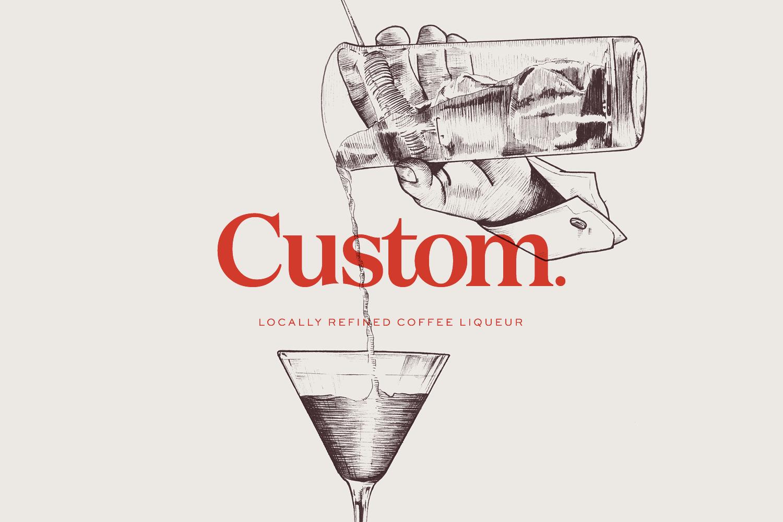 Custom Coffee Liqueur